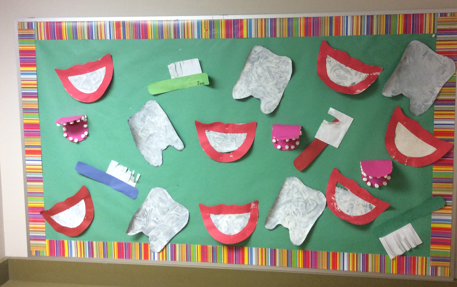 Capitals First By Print Path Dental Hygiene Practice For Preschoolers October Is Dental