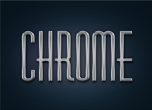 Metal Chrome Text Styles