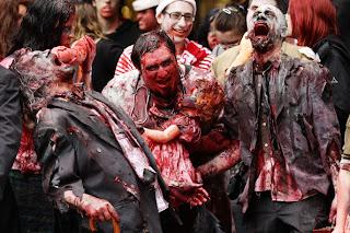 arti mimpi ketemu zombie, arti mimpi melihat zombie, arti mimpi dikejar zombie,