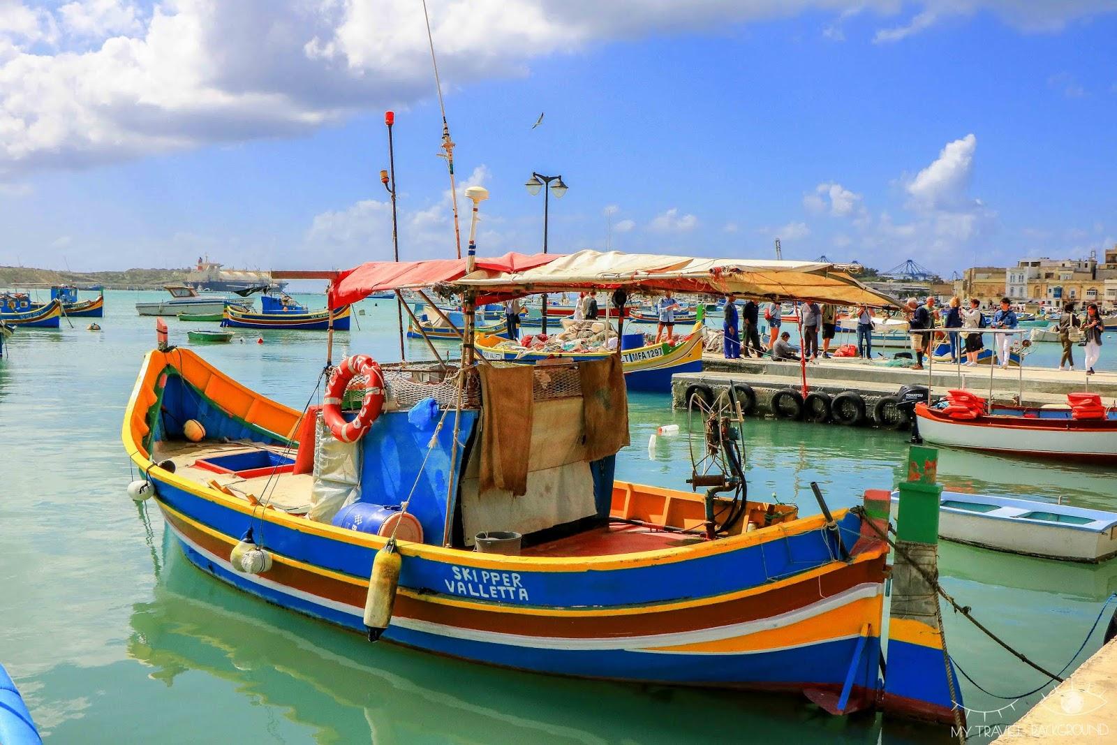 My Travel Background : les incontournables de Malte, Île de Malte (partie 1) - Marsaxlokk