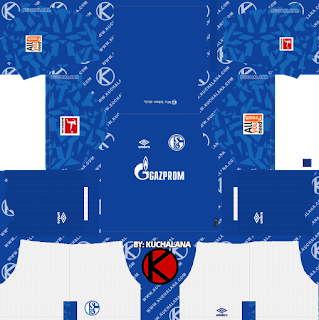 04 >> Schalke 04 2019 2020 Kit Dream League Soccer Kits Kuchalana