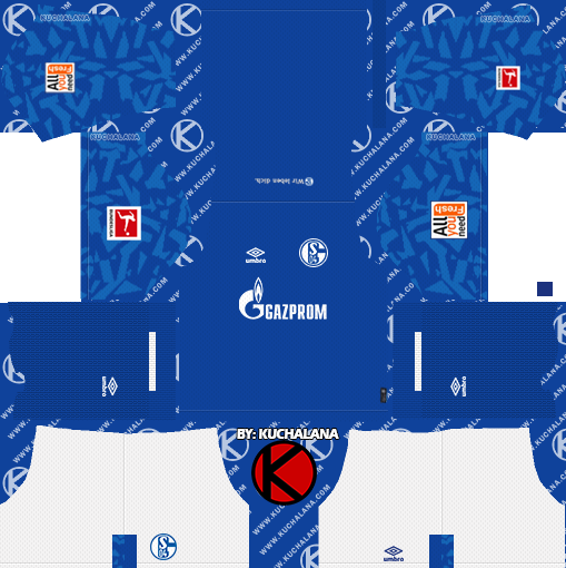 Schalke 04 2019/2020 Kit - Dream League Soccer Kits