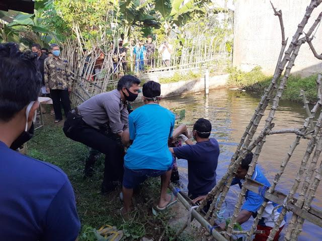 Diduga Kecebur Kolam, Pria Ini Ditemukan Tewas di Bojongsari