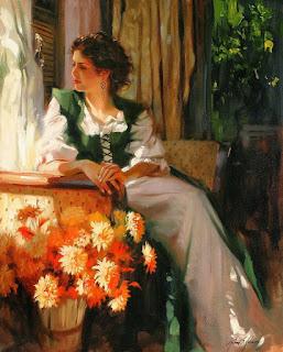 retratos-de-chicas-esencia-femenina mujeres-pinturas-oleo
