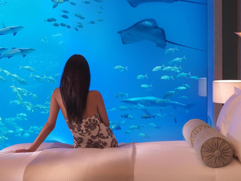 A Closer Look at Dubais Underwater Hotel - Angelic Hugs
