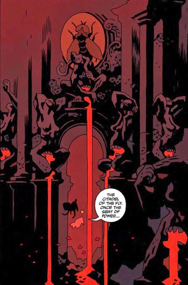 """Reseña de """"Hellboy en el Infierno"""" ed.Integral vol.4 - Norma Editorial"""