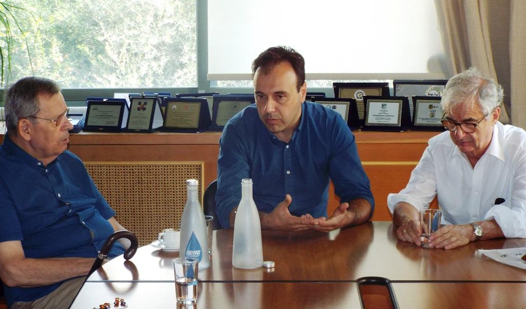 Σημαντικές συναντήσεις στα Τρίκαλα με αφορμή τα 200χρονα της Ελληνικής Επανάστασης (ΦΩΤΟ)