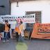 APTASCH instaló una carpa sanitaria frente al Hospital Perrando