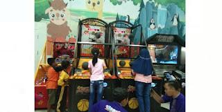 Serunya Lomba Street Basket High Score Element Family Fun Strawberry Bondowoso