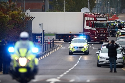 UK driver pleads guilty to Essex lorry deaths