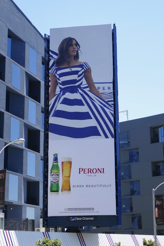 Peroni Birra Beautifully Summer 2019 billboard