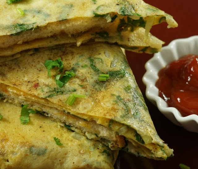Bread-Omelette-Indian