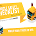 Step-by-Step Vehicle Safety Tips for Truck Drivers #infographic