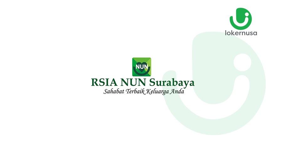 Lowongan Kerja RSIA NUN Surabaya