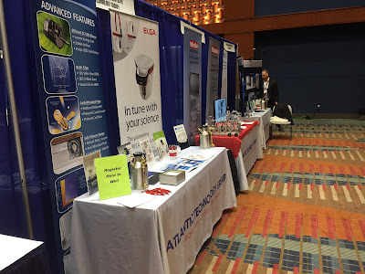 Atlantic Technology Group exhibit display at ISPE CASA 2018