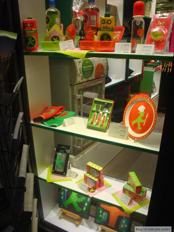 loja Ampelmann em Berlim