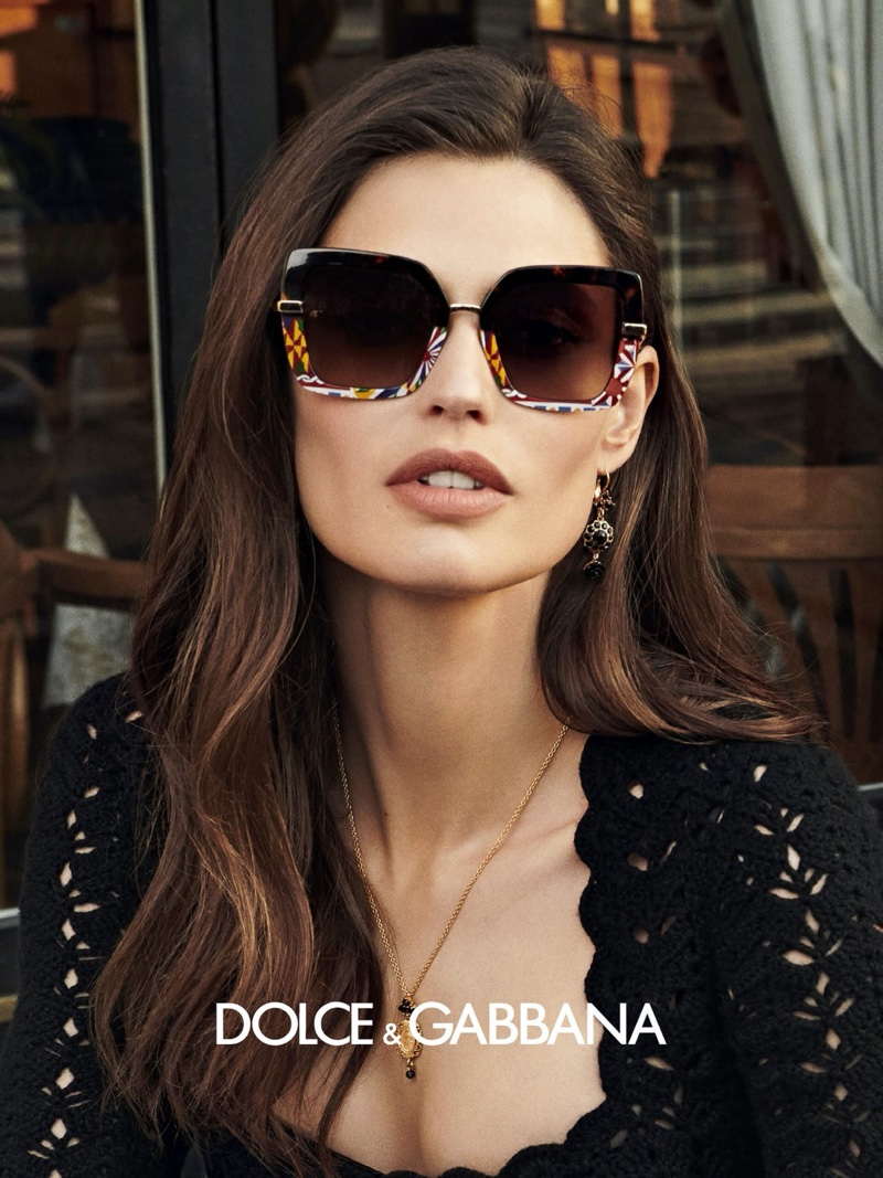 Dolce & Gabbana eyewear fall-winter 2020 campaign