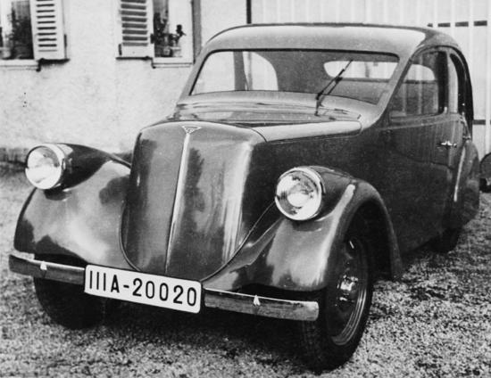 Porsche Type 12 - Front