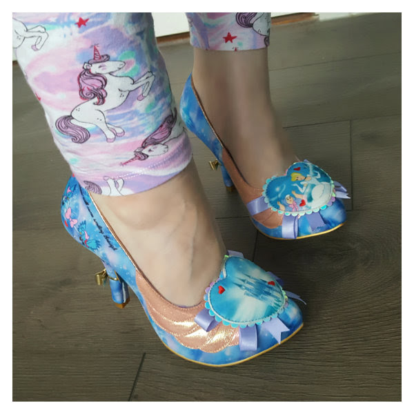 wearing irregular choice faith in dreams cinderella