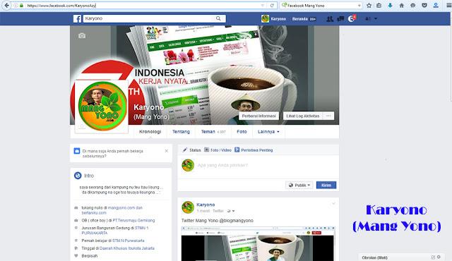 Facebook / Pesbuk Mang Yono