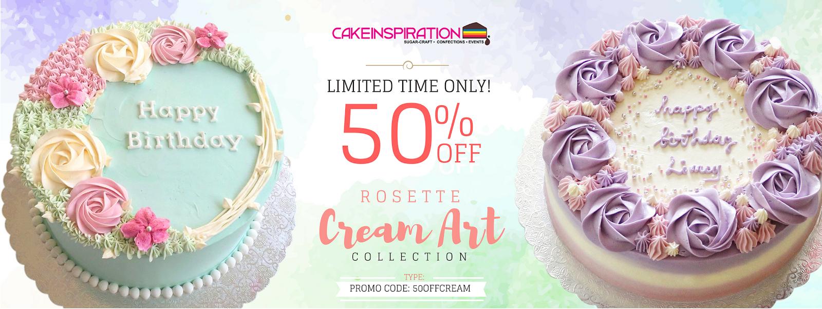 The Sensational Cakes Designer Cream Cake 50 Off Limited Time