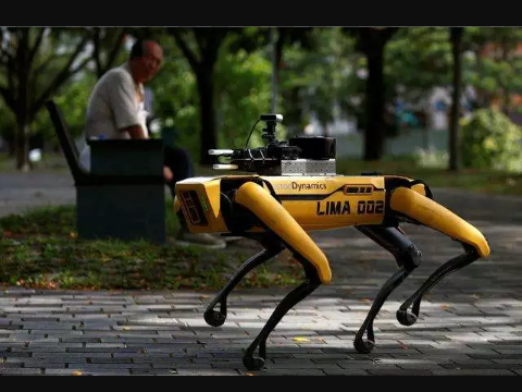 Robot and drones made for easier treatment of Corona-Virus
