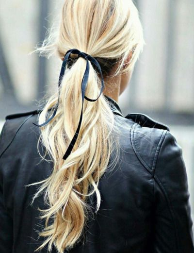 Festive Hairstyles with Velvet Bows