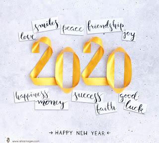 امنيات السنة الجديدة 2020