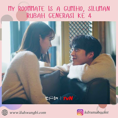 My roommate is a gumiho pesan moral