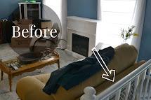 Split-Level Living Room Decorating Ideas