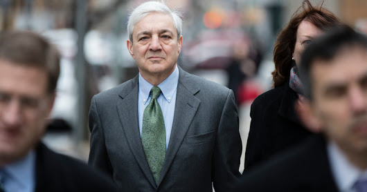 Former Penn State president guilty in Sandusky abuse case