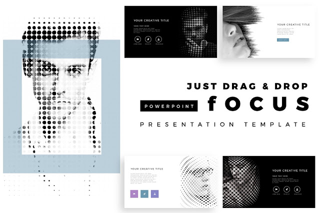 Focus Portfolio PowerPoint Template