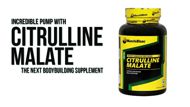 Get Incredible pump with Citrulline Malate Bodybuilding Supplement
