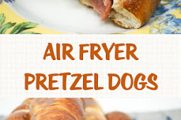 Air Fryer Pretzel Dogs