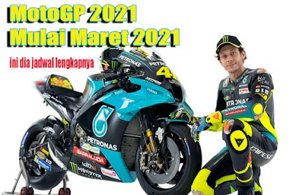Jadwal MotoGP 2021 Trans7 dan Jam Tayang [Terbaru] Hari ini