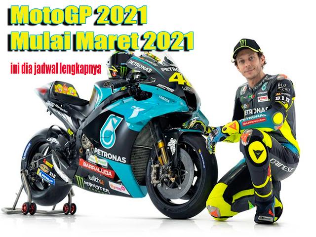 Jadwal MotoGP 2021 Trans7 dan Jam Tayang [Terbaru]