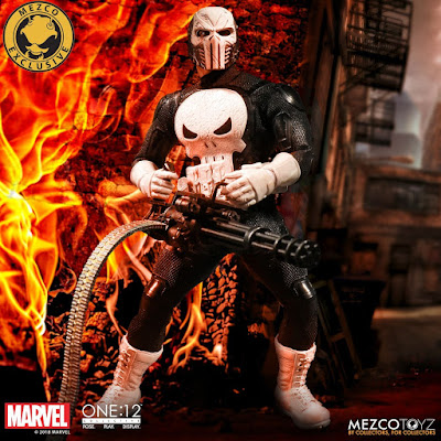 San Diego Comic-Con 2018 Exclusive The Punisher Special Ops Edition One:12 Collective Marvel Action Figure by Mezco Toyz
