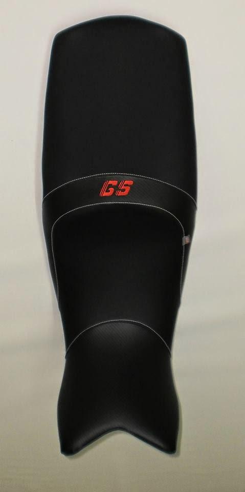 Asiento de bmw f800gs tapizado