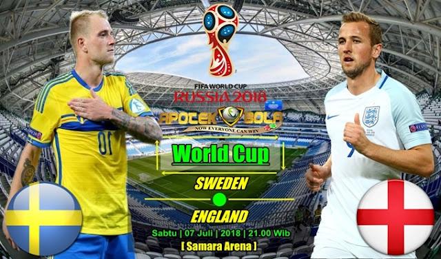 Prediksi Swedia Vs Inggris 7 Juli 2018