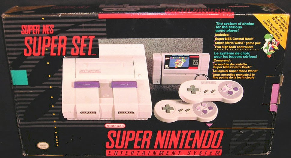 Super Nintendo Box