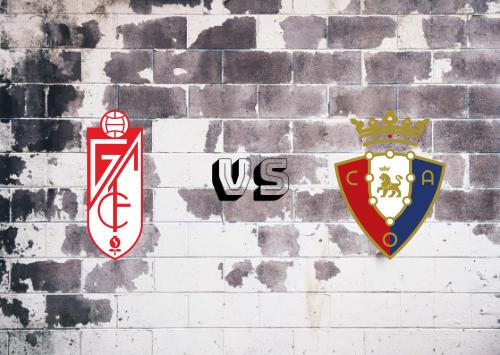 Granada vs Osasuna  Resumen