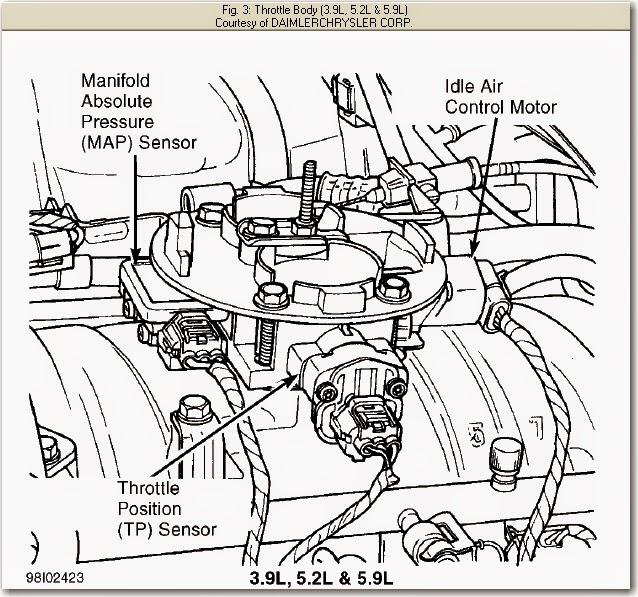 Throttle Position Sensor Diagram