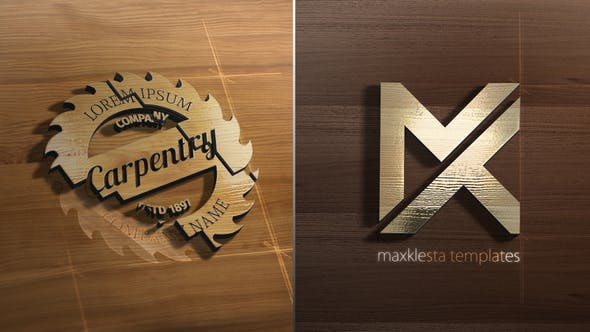 Wood 3D Logo Reveal[Videohive][After Effects][27121141]