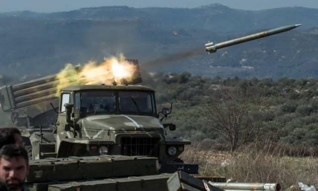 عاجل| دفاعات سوريا الجويه تصد غارات اسرائيل