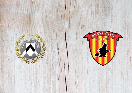 Udinese vs Benevento -Highlights 23 December 2020