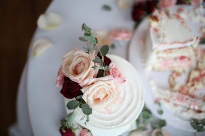 torta matrimonio decorata