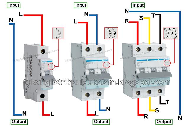 Mengenal Input dan Output Unit MCB