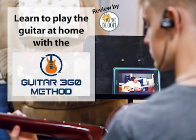 Guitar lessons at home with Guitar 360 Method online lessons.