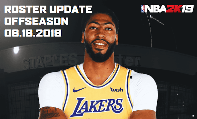 Shuajota | Your Videogame to the Next Level: NBA 2K19 Roster