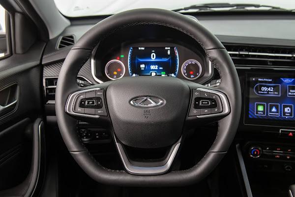 Caoa Chery Tiggo 3X Turbo - interior - painel